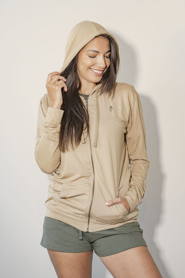 One of One Hoodie Unisex Camel