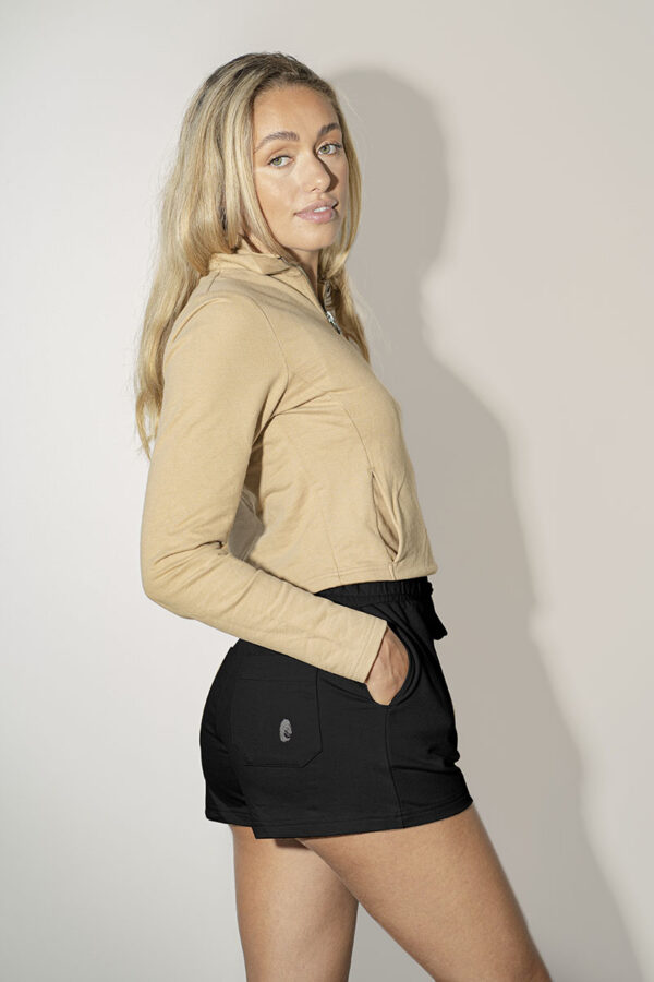 One of One Shorts Women Black Back