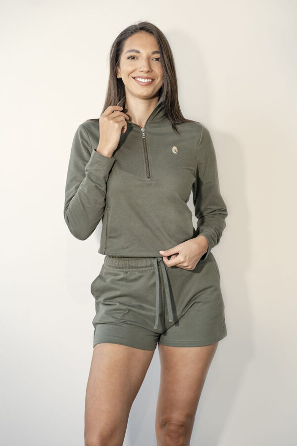 One of One Shorts Women Olive