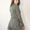 One of One Shorts Women Olive Back