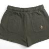 One of One Shorts Women Olive Product Back