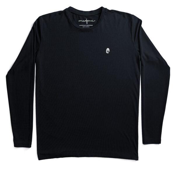 One of One Tshirt Long Sleeve Unisex Black Product