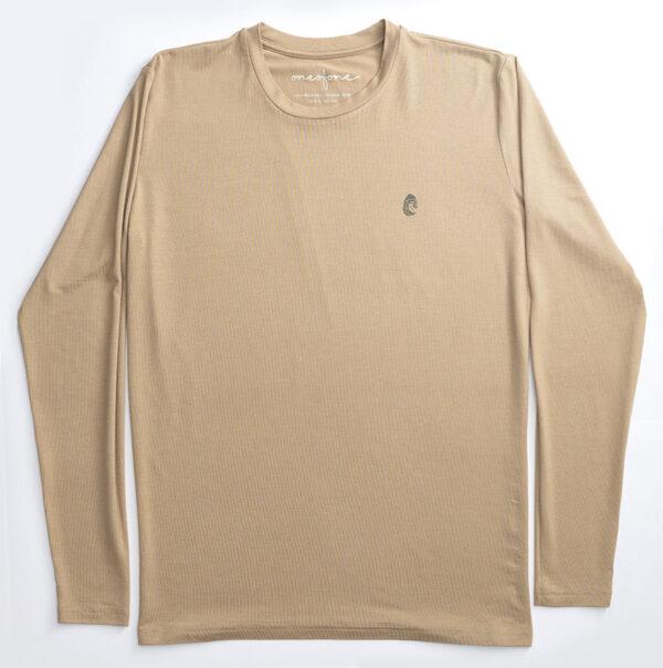 One of One Tshirt Long Sleeve Unisex Camel Product