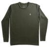 One of One Tshirt Long Sleeve Unisex Olive Product