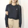 One of One Tshirt Short Sleeve Unisex Black