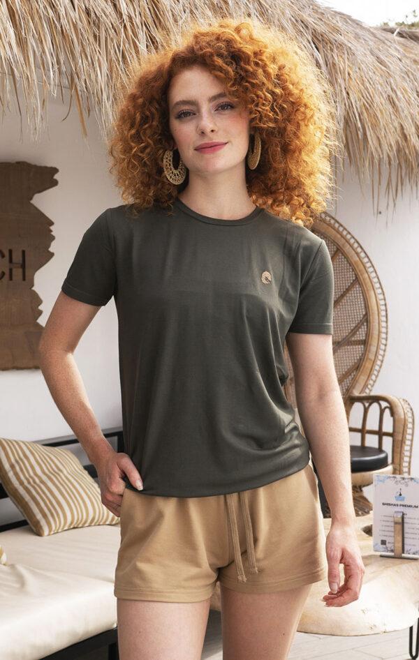 One of One Tshirt Short Sleeve Unisex Olive