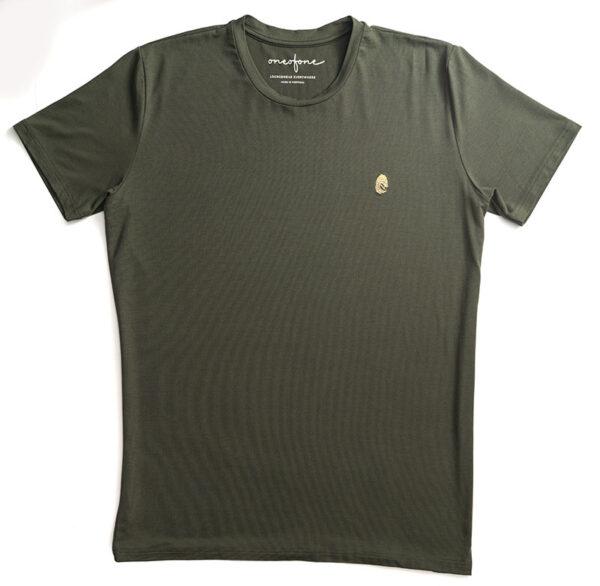 One of One Tshirt Short Sleeve Unisex Olive Product