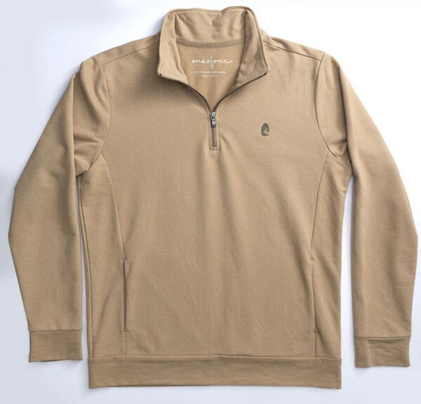One of One Ziptop Men Camel Product